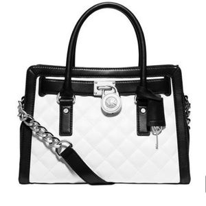 Michael Kors Hamilton Quilted East West Leather